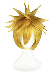 Bleach-Kurosaki ichigo Light Blonde 14i8nch Anime Cosplay Wig CS-001L