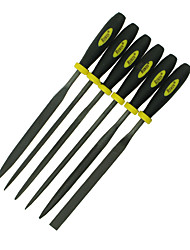 REWIN® TOOL Ball Bearing Steel Assorted Files Set With 6 Functions Size: Φ5mm*180mm