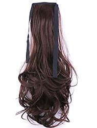 usine longueur 50cm noir et blanc vente directe de type bind prêle friser les cheveux queue de cheval (couleur 33j)