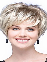 Fashion Synthetic Wigs Blonde Wave Top Quality Wigs