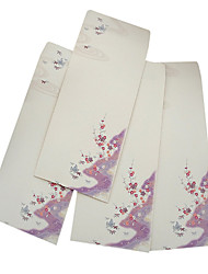 China Wind retro creative Chinese style 5 envelopes (Pictorial random)