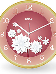 Simple Birch 8 Inch Bedroom Modern Living Room Wall Clock Mute