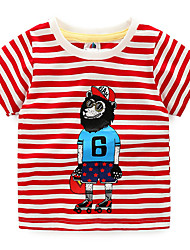 New Lovely Printing Baby Kids Boys Cartoon Tops T-Shirts Summer Children's Clothing