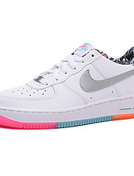 Nike Air Force 1 Round Toe / Sneakers / Casual Shoes / Running Shoes / Skateboarding Shoes Women's Wearproof Low-Top WhiteRunning/Jogging