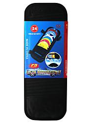 pu vizier zonnescherm cd houder voor in de auto willekeurige kleur