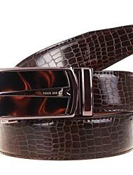 Hombre Piel de Ternero Cinturón de Cintura Vintage / Fiesta / Trabajo / Casual Todas las Temporadas