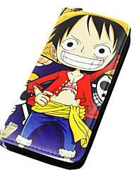 One Piece-Monkey D. LuffyPele PU-Carteiras
