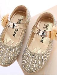 ДЕВУШКА-Обувь на плоской подошве(Розовый / Золотистый) -Туфли Мери-Джейн