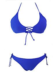 Damen Bikinis - Mit Schleife Bambusfaser Riemchen