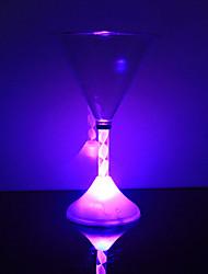 0.5 W Couleurs changeantes Batterie Capteur Lampes de nuit / Verres & Tasses LED <5V V Plastique