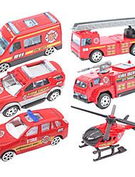 Dibang - jouets pour enfants nouveau glisser alliage voiture modèle de camion jouet (x6)