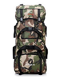 56-75 L Backpack / Hiking & Backpacking Pack Camping & Hiking / Climbing / Traveling Outdoor / Performance