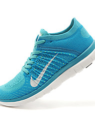 Nike Free 4.0 RN Flyknit Round Toe / Sneakers / Running Shoes / Casual Shoes Women's Wearproof Black / BlueRunning/Jogging / Leisure