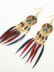 Earring Drop Earrings Jewelry Women Tassels / Fashion Party / Daily / Casual 1 pair Gold