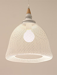 Max 60W Modern/Contemporary Mini Style Painting Metal Pendant LightsLiving Room / Bedroom / Dining Room / Kitchen