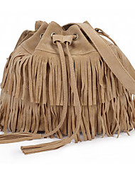 Popular In Europe And America Fringed Shoulder Bag Messenger Bag Woman Shopping Travel Package