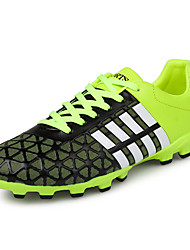 Men's Soccer Shoes PU Blue / Green / Red