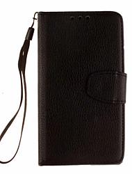 Pour Coque Huawei P9 P9 Lite P8 P8 Lite Portefeuille Porte Carte Avec Support Coque Coque Intégrale Coque Couleur Pleine Dur Cuir PU pour
