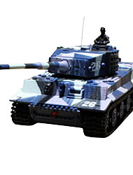 Great Wall 1:7 2 Full Scale Rc Tanks Model with Sound Light Charging Electric Toys For Children