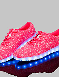 Led Shoes Unisex 35-40 Women's Shoes Tulle Comfort Fashion Sneakers Athletic / Dress / Casual Black / Red / Gray