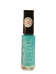 Bgirl Painting Blue 10ML Manicure Drawing Pen Nail Polish for 3 Years