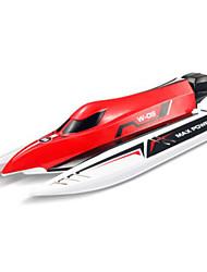 2.4G бесщеточный дистанционного управления лодкой, высокие f1 моделирования полномасштабная опыт быстроходных катеров игрушки