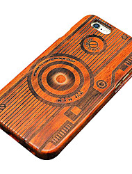 For iPhone 5 Case Pattern Case Back Cover Case Wood Grain Hard Wooden for iPhone SE/5s/5