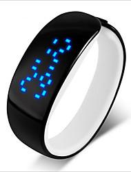 студенты часы водонепроницаемый спортивный моды личности нейтрально наручные часы женский мужские и женские LED мужские