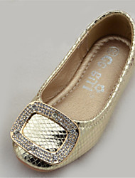 Girl's Sandals Summer Comfort Microfibre Outdoor Flat Heel Silver Gold