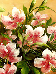 JAMMORY Mural Art Deco Wallpaper Contemporary Wall Covering,Canvas Yes Large Mural Watercolor Lily