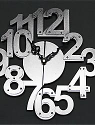 Moderno/Contemporáneo Otros Reloj de pared,Otros Acrílico 30*30*5 Reloj