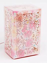 main fleur de papier 3d lampe veilleuse
