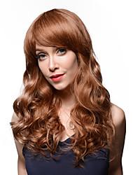bouffant attractif remy ondulés cheveux humains main attachée -top Emmor perruque de femme