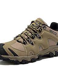Hiking Shoes Men's  Trail Running Shoes Nappa Leather Khaki