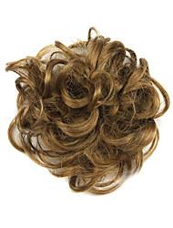 Wig Brown 6CM High-Temperature Wire Hair Circle Colour 2005
