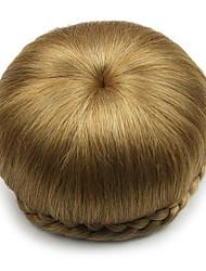 mariée crépus or bouclés europe cheveux humains capless perruques chignons sp-002 1011