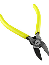 Yellow Handle 6 inch Japanese Outlet Clamp Diagonal Pliers Wire Cutter Pliers Plating Angle of The Electron