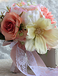 Handmade Free-form Lilies / Peonies Wedding Flowers Bridal Bouquets