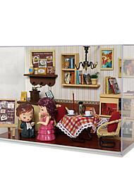 diy hutte chi maison de verre maison fun t-009 série de moments indélébiles idées de cadeaux faits à la main