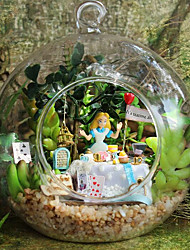 Chi Fun House Diy Cabin B-011 Alice Forest House Model Handmade Birthday Gift Ideas