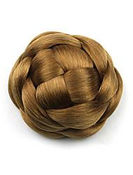 Kinky кудрявый коричневого европы невесты человеческих волос монолитным парики шиньоны g660205 2005
