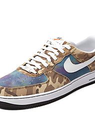 Nike Air Force 1 Round Toe / Sneakers / Running Shoes / Casual Shoes / Skateboarding Shoes Men's Wearproof Low-Top Camouflage