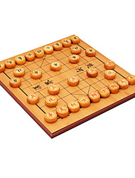 Royal St china peças de xadrez de madeira em frente e verso dupla utilização placa de 2,5 cm + 5 pontos de tabuleiro de xadrez cocobolo