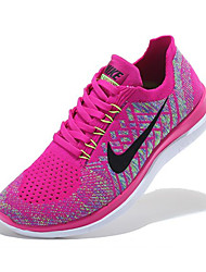 Nike Free 4.0 RN Flyknit Round Toe / Sneakers / Running Shoes / Casual Shoes Women's Wearproof PeachRunning/Jogging / Leisure Sports /
