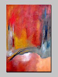 mão grande tamanho pintura a óleo lona pintada da arte moderna da parede foto com moldura abstracta esticado pronto para pendurar