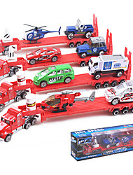 Dibang - liga de brinquedos carro cidade modelo de simulação carro de brinquedo para crianças (4pcs)