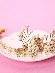 Women's Rhinestone / Brass / Alloy / Imitation Pearl Headpiece-Wedding / Special Occasion / Outdoor Headbands 1 Piece