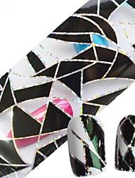 1pcs 100cmx4cm decoraciones del brillo del clavo clavo de la hoja pegatina de la flor del cráneo del cordón atractivo de la belleza DIY