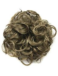 парик душно бирюзового 6см высокотемпературный провод круг волос цвет 6004m