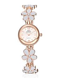 Women's SOXY Flowers Luxury Brand Quartz Wristwatch Fashion Bracelet Watches(Assorted colors) Cool Watches Unique Watches
